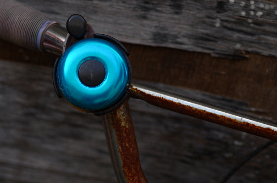 Blue Bicycle Bell