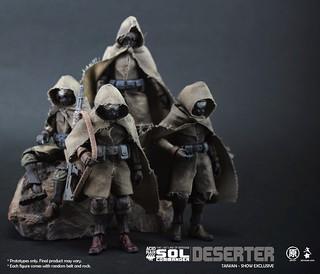 "Ori Toy - 《酸雨戰爭》台灣限定商品逃兵""DESERTER"""