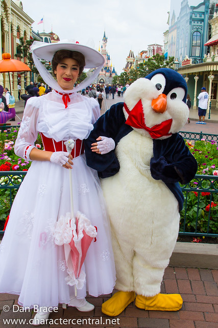 Meeting Mary Poppins and Mr Penguin