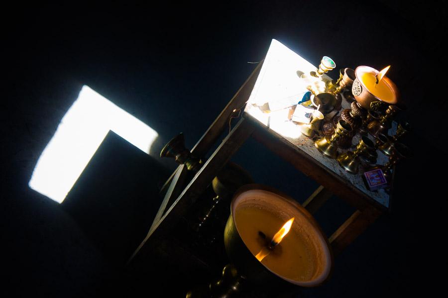 В монастыре Зангла. © Kartzon Dream - авторские путешествия, авторские туры в Индию, тревел фото, тревел видео, фототуры