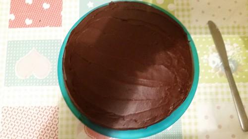 Leo's First Birthday -3 ring circus cake