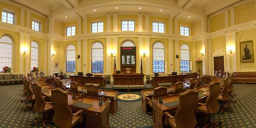 Maine State Senate Chamber