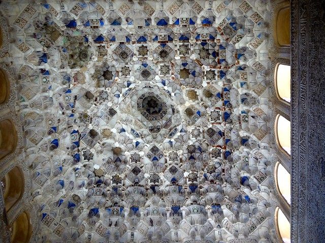 Spain Granada Alhambra Palace Muqarnas 5
