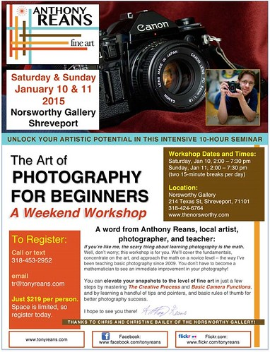 Reans photo workshop