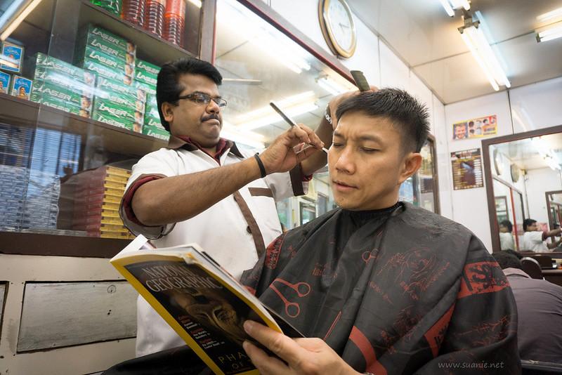 Stylo Indian barber Kuala Lumpur - edgy trim
