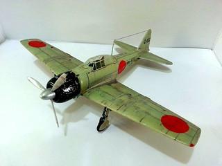 【玩具人'頭殼壞壞'投稿】TAMIYA 1/48 零式艦上戰鬥機 三二型