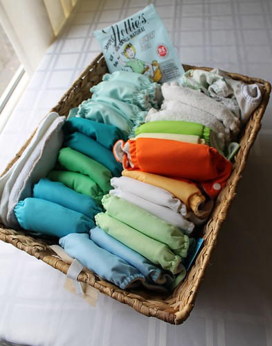 Eco Cheeky Newborn Diaper Rental Package