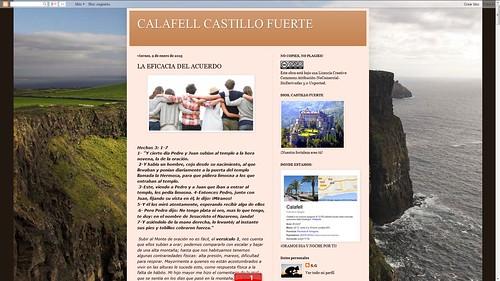 137 - Calafell Castillo Fuerte i Casa de Pan