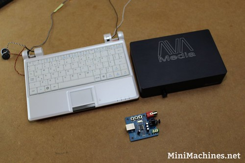 Daphile EeePC & DAC USB