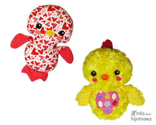 Birdie & Easter Chick Sewing Pattern