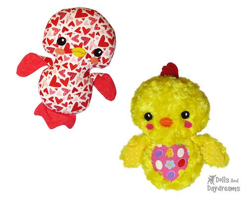 Birdie & Easter Chick Sewing Pattern