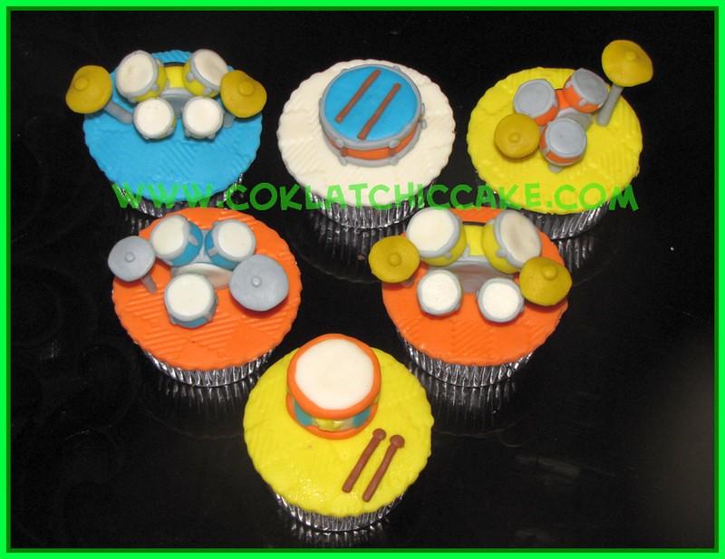 Cupcake drum