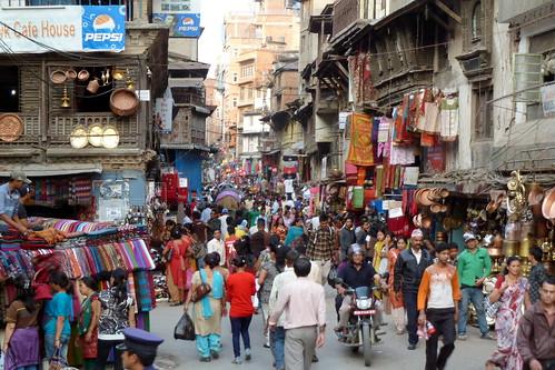 Nepal - Kathmandu - Streetlife - 102