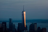 New York - One world trade center at sunset