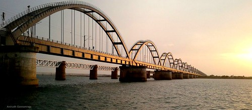 railways trains havelockbridge rajamahendravaram river archbirdge godavari superfast