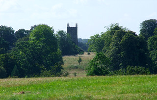 West Newton church from Sandringham church
