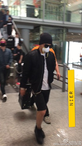 Big Bang - Beijing Airport - 05jun2015 - Tae Yang - mino_nier - 01