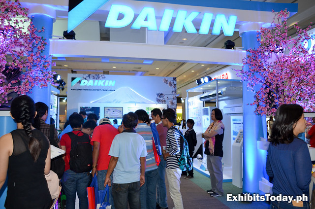 Daikin Trade Show Booth