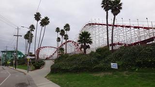 Santa Cruz rollercoaster