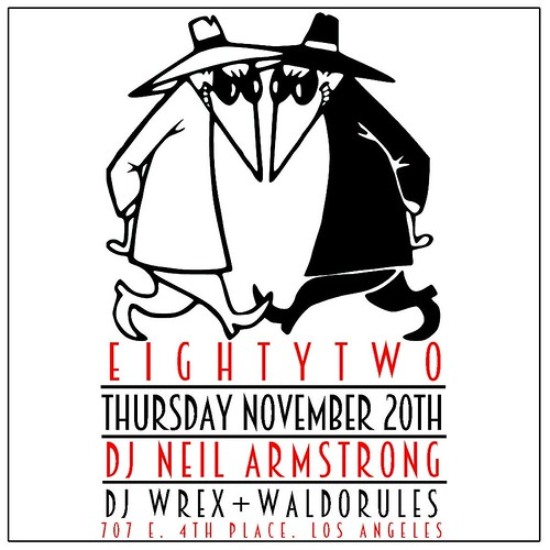 11/20 - Thurs - Going back to Cali - EightyTwo Bar LA