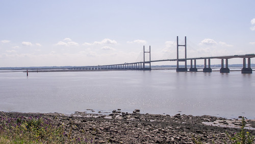 Second Severn Crossing from Sudbrook