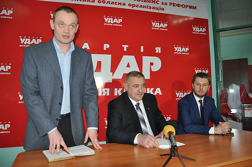 «Ми йдемо на вибори окремо» — «ударівець» Анатолій Сидорук