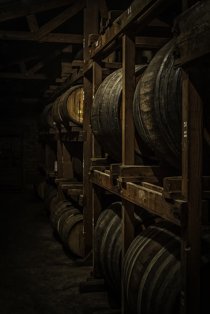 Casks of Port
