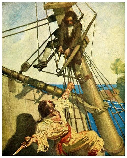 006-Treasure Island -1911-ilustrada por NC Wyeth