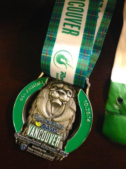 Rock'n'Roll 10 km medal