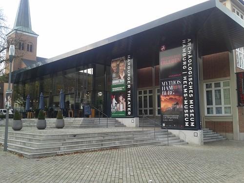 Eingang Harburger Theater und Helm-Museum