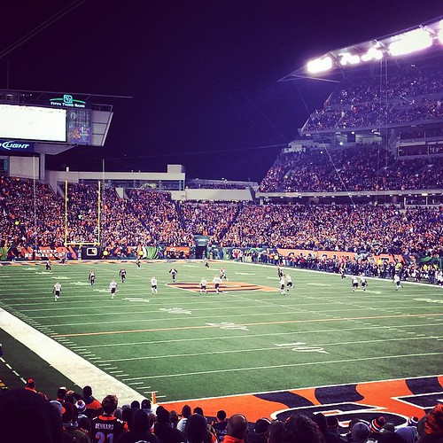 Who's ready for some Thursday night football?! #whodey #tnf