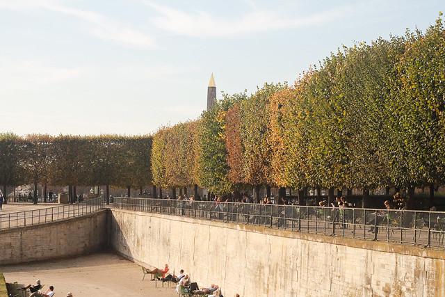 Paris in Autumn: Tuileries Gardens