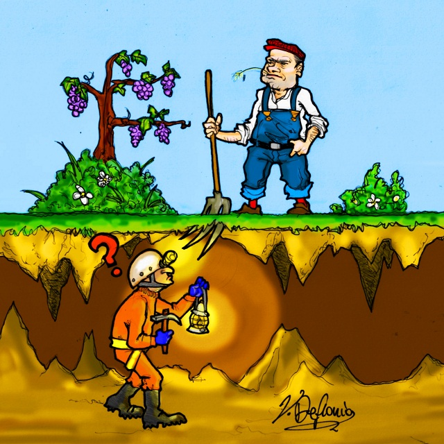 Noicattaro. Vignetta grotte intero