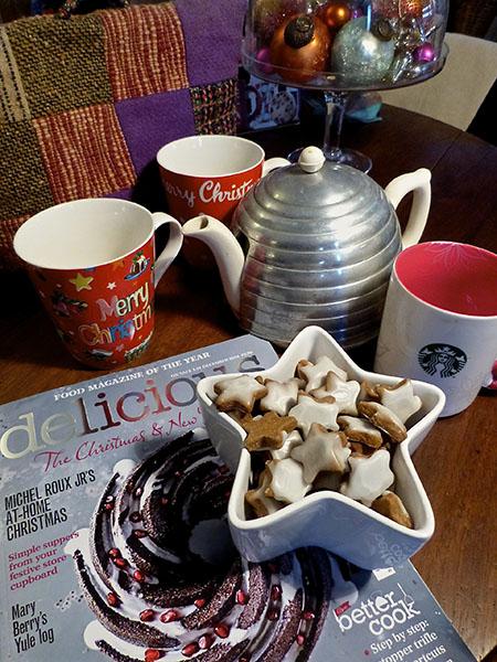 thé et biscuits