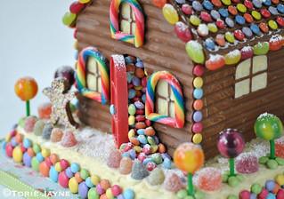 Homemade chocolate house 2