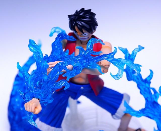 【玩具人'杜少'投稿】簡易開盒介紹— 萬代火焰特效零件組~藍