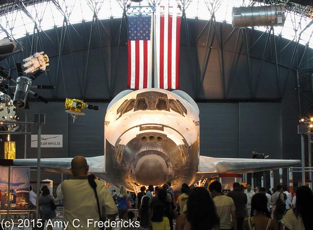 NASM Udvar-Hazy Center - Space Shuttle Discovery