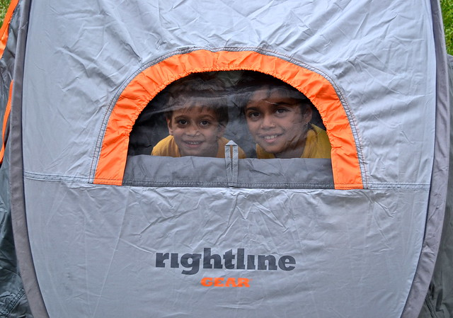 camping with kids - rightline gear