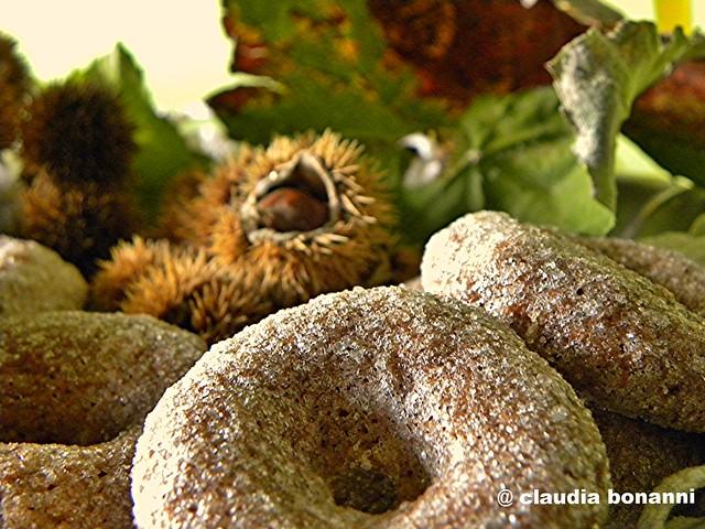 ciambelline di farina di castagne e di solina (3)