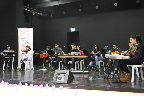 Tunes for Peace Students perform their music skills