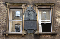 Photo of Cecil John Rhodes grey plaque