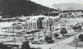 高雄市煉油總廠老照片,前身為日治時代的海軍第六燃料廠。 (示意用圖,非出自原書,照片由高雄市立歷史博物館及國家文化資料庫典藏)