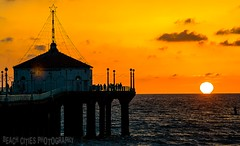 Sunset at Manhattan Beach Pier