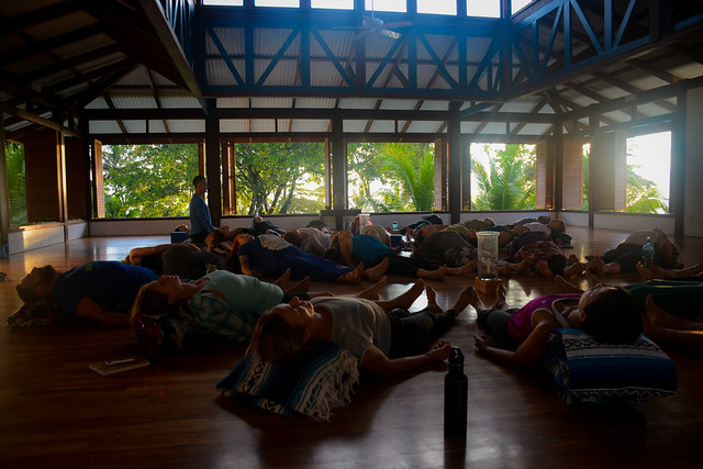 Restorative Yoga Practice for Stress and Fatigue