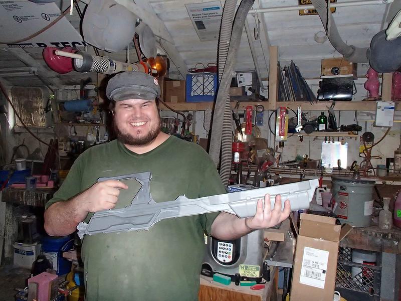 Aug 19 Lightning Gun Body Casting Progress 14