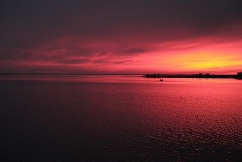 sunset sailing dinghy stratuscloud nakskovfjord vejlø enehøje