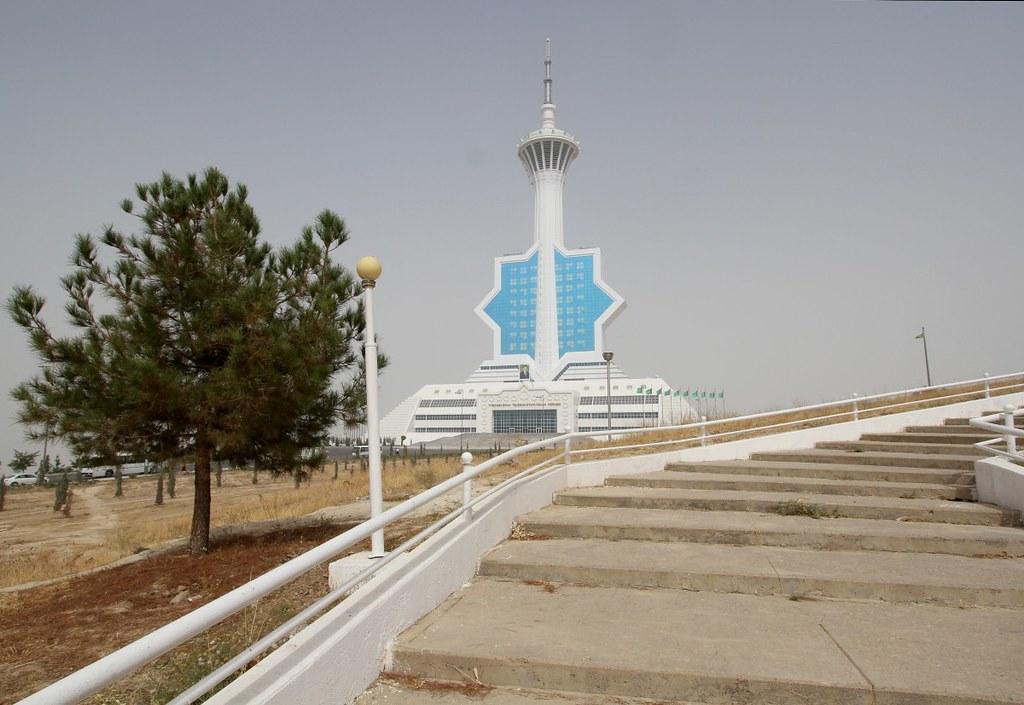 Asgabat TV Tower, Kopet-Dag Mountains, Asgabat