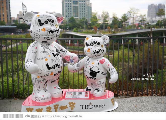 【台中泰迪熊2014】台中泰迪熊嘉年華(秋紅谷展區)~大熊牽小熊,萌翻大台中!39