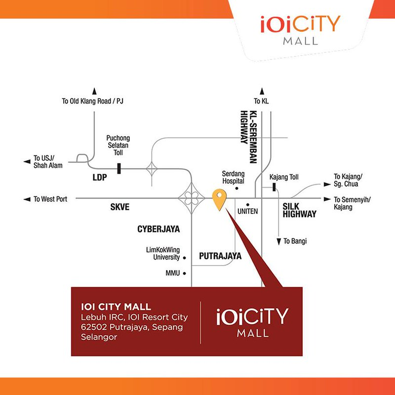 ioi city mall map