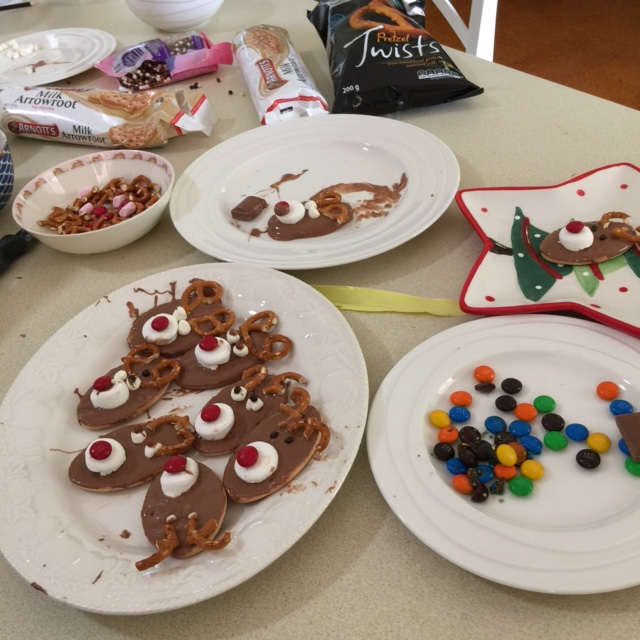 Easy Fun Rudolph Biscuits For Christmas
